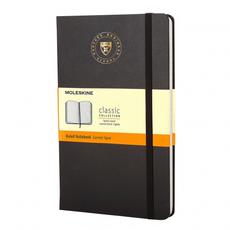 Harvard Business School Moleskine Ruled Notebook