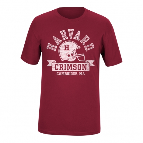 Harvard Crimson Football Tee