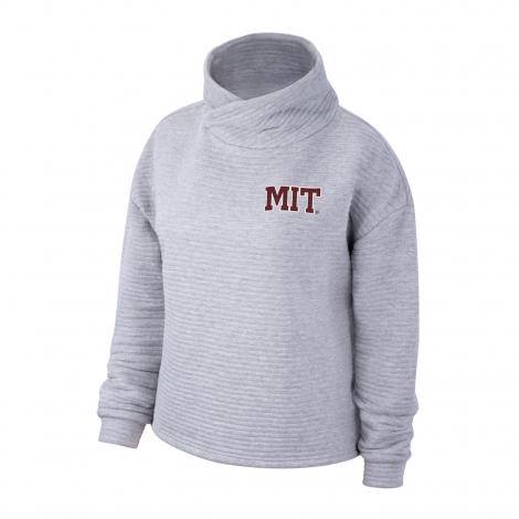 MIT Women's Top Of The World Wrapped Funnel Neck Pullover