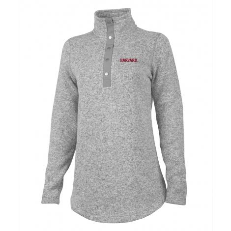 Harvard Women's Hingham 1/4 Snap Sweater Tunic