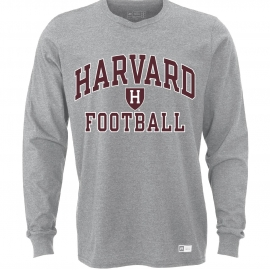 Harvard Long Sleeve Essential Football Tee