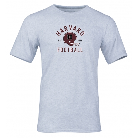 Harvard Youth Grey Essential Football Tee Shirt