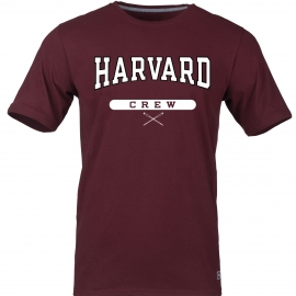 Harvard Maroon Crew Tee Shirt