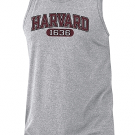 Harvard Russel Athletics Arched Logo Performance Tank