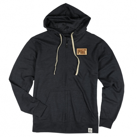 MIT French Terry Fleece Zip Hoodie