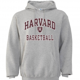 Harvard Basketball Hooded Sweatshirt