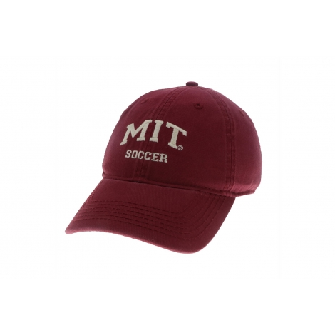 MIT Soccer Washed Twill Hat