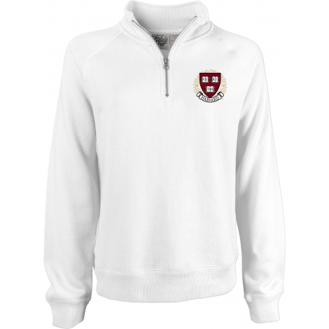 Women's Harvard Sanded Fleece 1/4 Zip