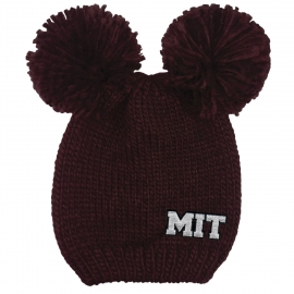MIT Double Pom Winter Knit