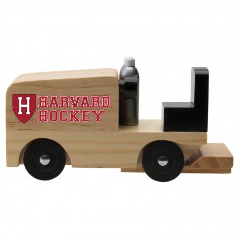 Harvard Hockey Wooden Zamboni