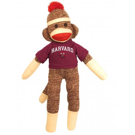 "Harvard 20"" Sock Monkey"