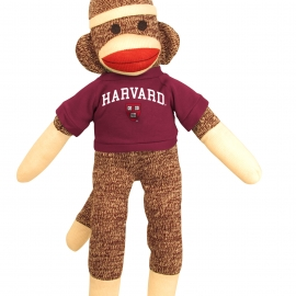 "Harvard 20"" Sock Monkey"