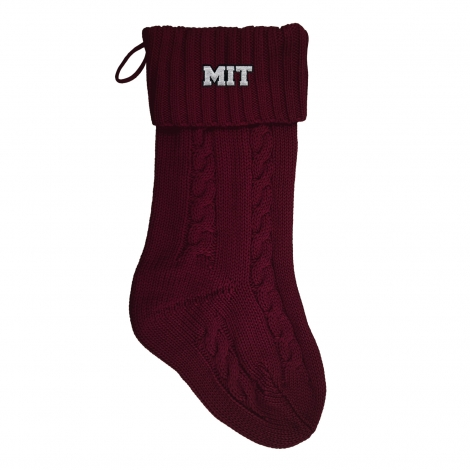 MIT Cable Knit Stocking