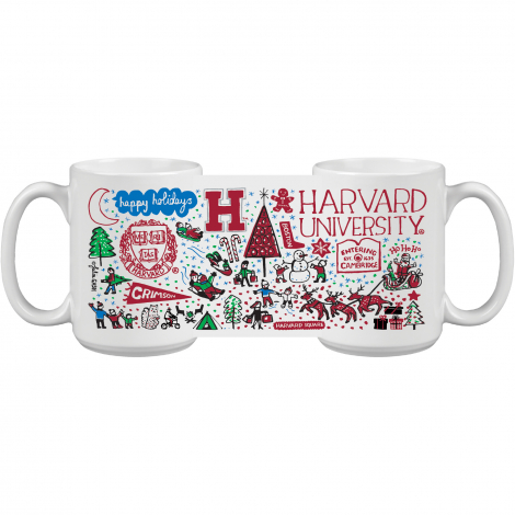 Harvard Julia Gash Holiday Mug