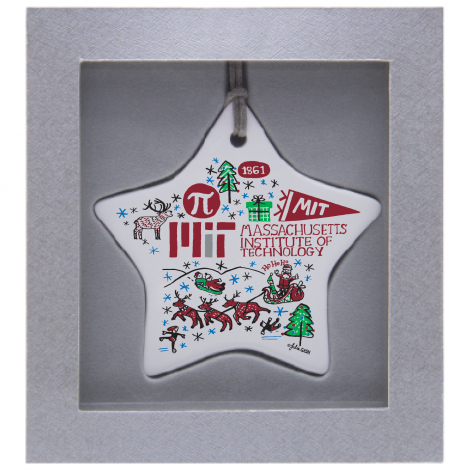 MIT Julia Gash Ceramic Star Ornament