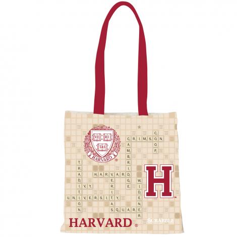 Harvard Scrabble Slim Tote