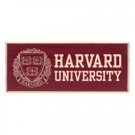 Harvard Wood Magnet