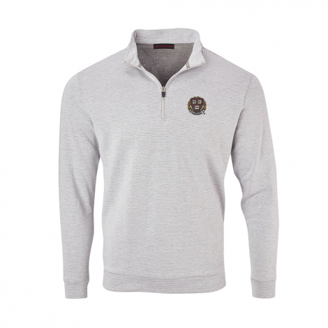 Harvard Men's Luxury Interlock Pullover