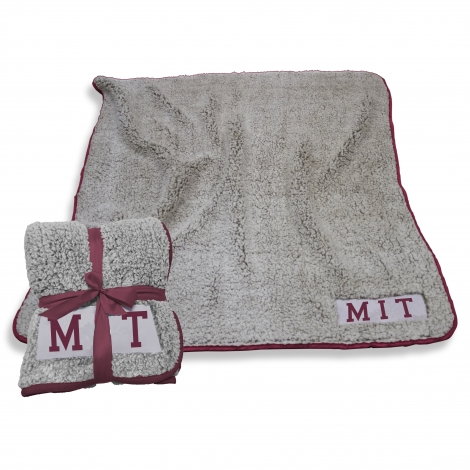 MIT Frosty Fleece Sherpa Blanket