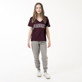 Harvard American Collegiate Women's Essential V-Neck Tee