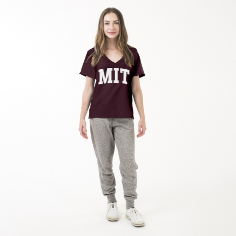 MIT Women's Essential V-Neck Tee