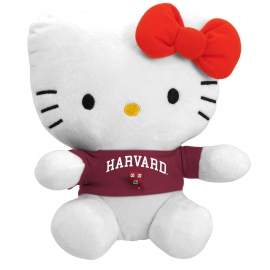 "Harvard Hello Kitty 11"" Plush"