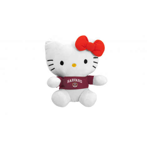 "Harvard Hello Kitty 11"" Plush Toy"