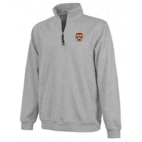 Harvard Youth Crosswind 1/4 Zip Sweatshirt