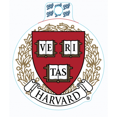 Harvard Veritas Vinyl Sticker