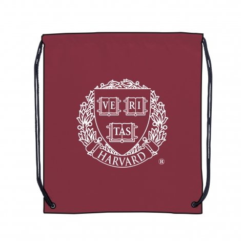 Harvard Polyester Drawstring Bag
