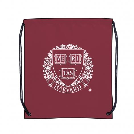 Harvard Polyester Drawstring Bag