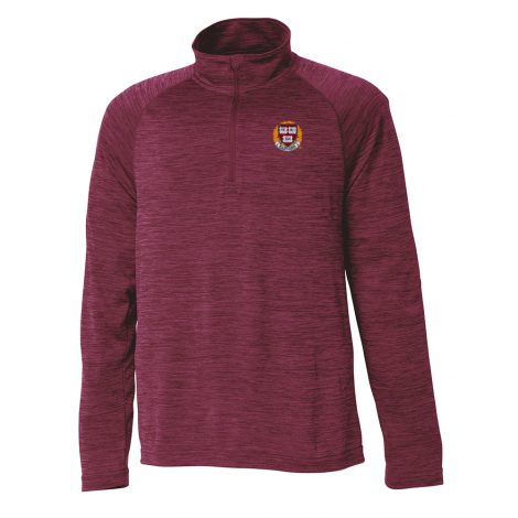 Harvard Youth Space Dye Performance 1/4 Zip Pullover