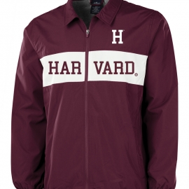 Men's Harvard Striped Sideline Jacket