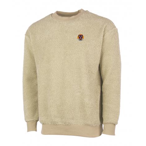 Harvard Unisex Sherpa Crew Neck Sweater