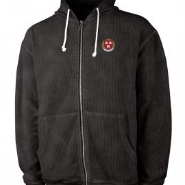 Harvard Charles River Full-Zip Corded Camden Hooded Sweatshirt