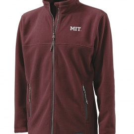 MIT Men's Full Zip Fleece Jacket