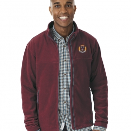 Harvard Men's Full Zip Fleece Jacket
