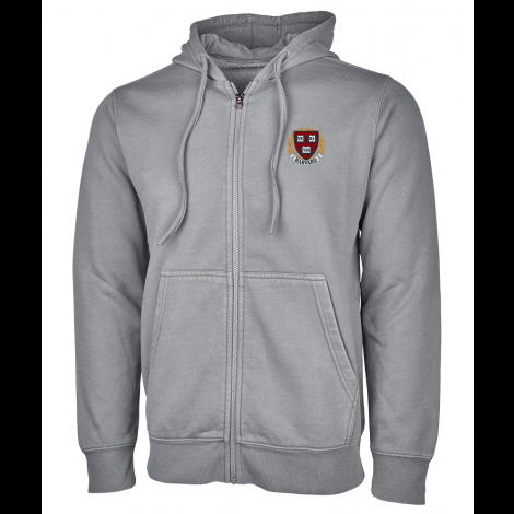 Harvard Clifton Full Zip Hooded Sweatshirt