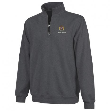 Harvard Class of 2018 1/4 Zip Crosswind Sweatshirt