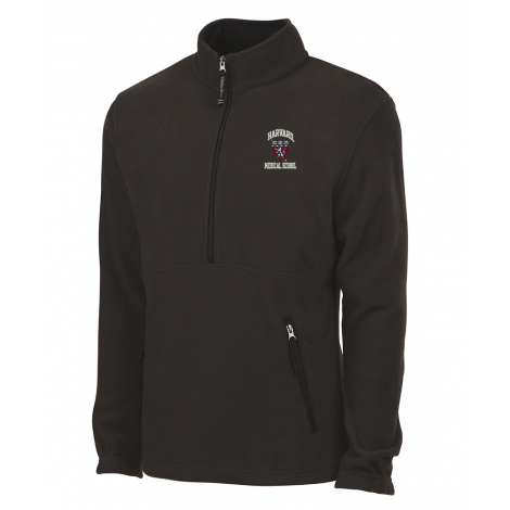 Harvard Medical School Men's Charles River Fleece 1/4 Zip Pullover