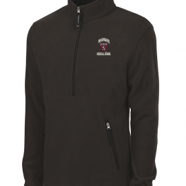 Harvard Medical School Men's Charles River Fleece 1/4 Zip Pullover