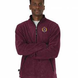 Harvard Men's Fleece 1/4 Zip Pullover