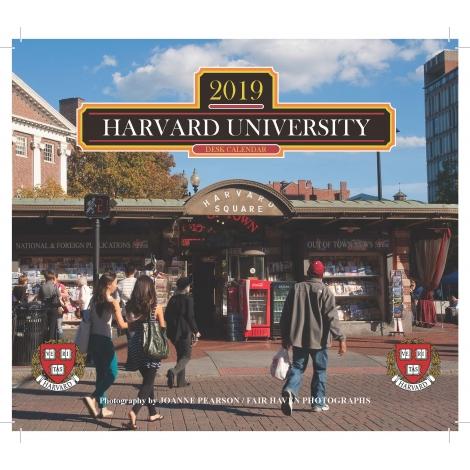 2019 Harvard Desk Calendar