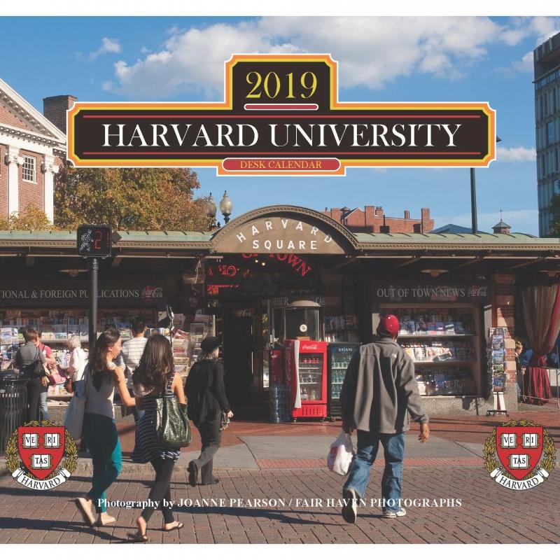 Harvard Calendar 2019 2019 Harvard Desk Calendar