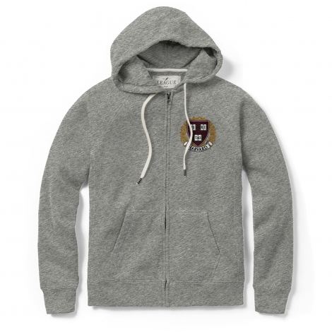 Women's Harvard Academy Full Zip Hood