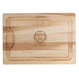 Personalized JK Adams Farmhouse Harvard Carving Board