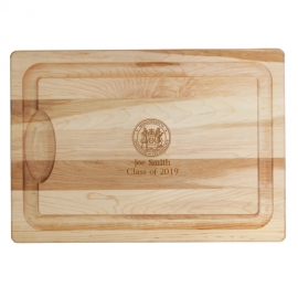 MIT Personalized JK Adams Farmhouse Carving Board