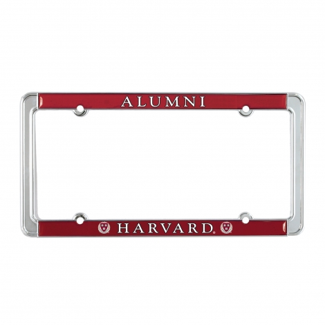 Harvard Full Color Alumni License Plate Holder