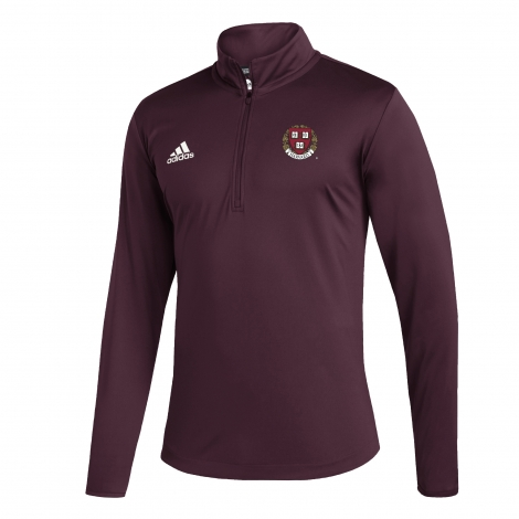 Harvard Adidas Under The Lights Quarter Zip Pullover