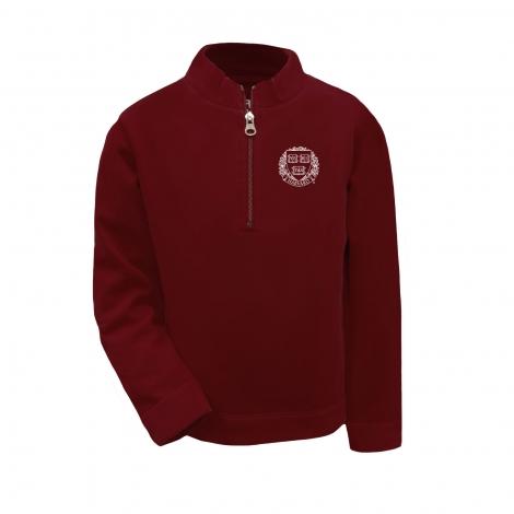 Harvard Youth Quarter Zip Pullover